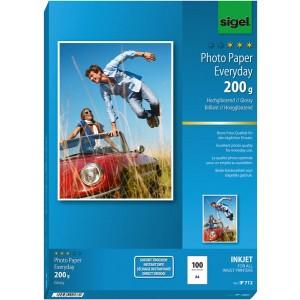 InkJet-Plus-Photo-Papier A4 200g hochglänzend weiß