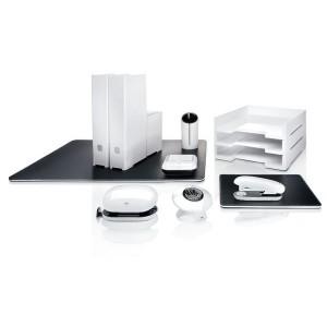 Haftnotizbox eyestyle white Maße: 110x40x110 mm