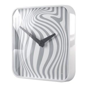 Design-Wanduhr artetempus® Modell: opta, white, geräuschloses