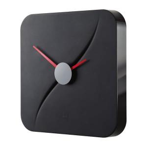 Design-Wanduhr artetempus® Modell: kada, black, geräuschloses