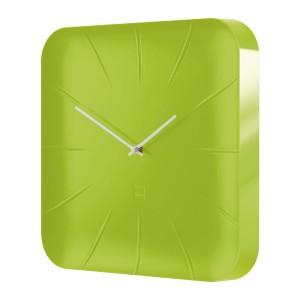 Design-Wanduhr artetempus® Modell: inu, lemon green,