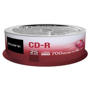 CD-R 80Min. 700MB 48x 25er Spindel
