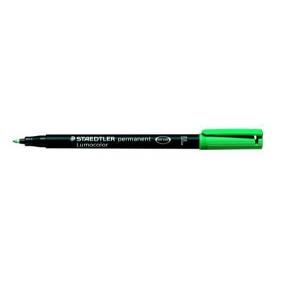 Folienschreiber 0,6mm perm. grün nachfüllbar