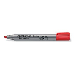 Lumocolor Flipchart marker mit Keilspitze 2-5mm schwarz