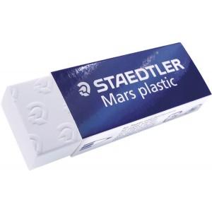 Mars Plastic Radierer 65X23X13mm weiß