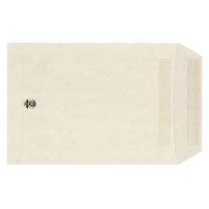 Versandtasche, C4, mit Fenster, Selbstklebend, grau, 100g/qm, Recycling