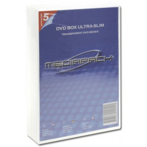 DVD-Leerhülle transparent