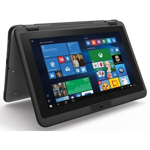 Notebook Mobile 360-11 11 Zoll 29,5cm, Win 10 Pro 4GB RAM 128GB SSD,