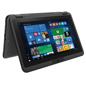Notebook Mobile 360-11 11 Zoll 29,5cm, Win 10 Home 4GB RAM 128GB SSD,