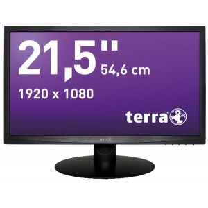 """LED/LCD Monitor 2212W schwarz 21,5"""" 16:9 Breitbild-Format, Full-HDTV"""