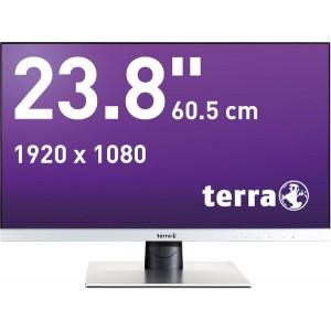 "LCD/LED Monitor 2462W silber 23,8"" Full-HD-Display, AMVA-Panel"