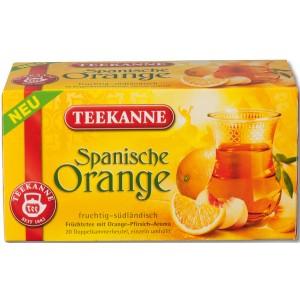 Tee Spanische Orange