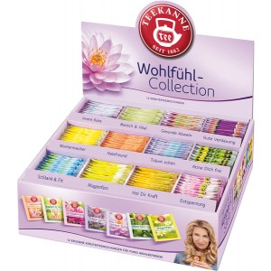 Wohlfühl Collection Box, 12 Sorten = 180 Teebeutel