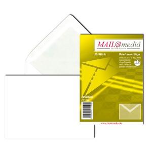 Briefumschlag C6, ohne Fenster, NK, 80 g/qm, weiß