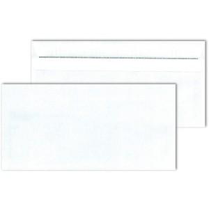 Briefumschlag DL ohne Fenster, SK,ws Blickdicht, Sicherheitsschlitz und