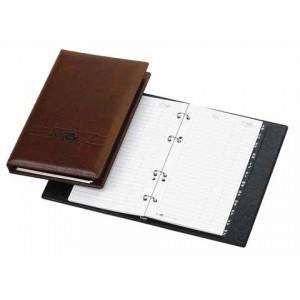 Telefonbuch Exquisit braun 4-Ring 16 mm