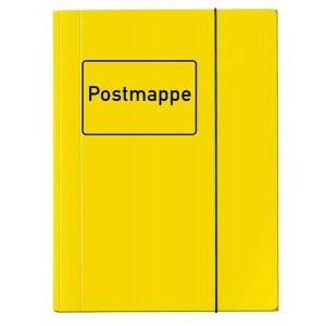 Sammelmappe mit Aufdruck Postmappe