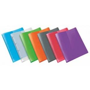 Ringbuch A4 Propyglass farblos 4-Rg.Mech 20mm