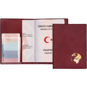 Reisepass-Schutzhülle Document Safe aus PVC und Spezialfolie, 100x135 mm