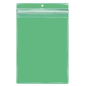 VELOBAG Protect A5, grün, Druck- verschluss, PVC-Folie, mittig gelocht