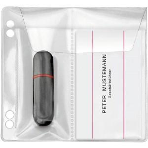 USB-Stick-Hüllen zum Abheften, PP, für 2 Sticks, glasklar,