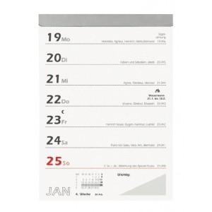 Wochenabreißkalender 10,5x15 cm # 325-0000