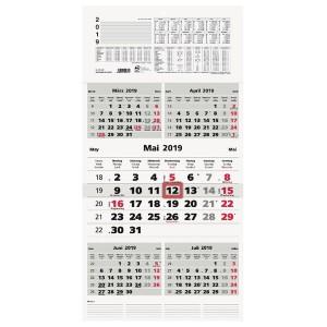 Fünfmonatskalender 33x63,5 cm # 970-0000