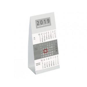 Dreimonats-Aufstellkalender klein 9,5 x 19,5 cm # 980-0000