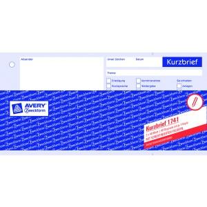 Kurzbrief 1/3 A4 SD 2 x 40Blatt