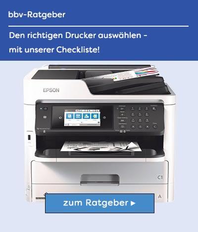 Drucker Checkliste